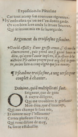ps. 3 edition Roffet 1543.
